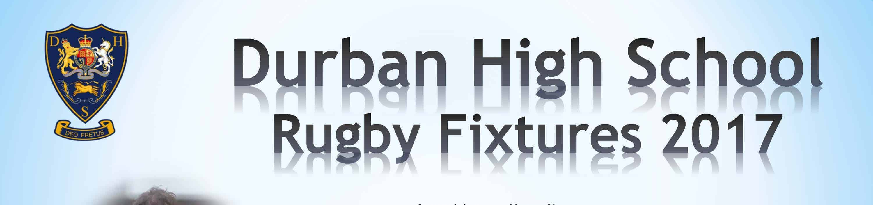 DHS Rugby Fixtures 2017