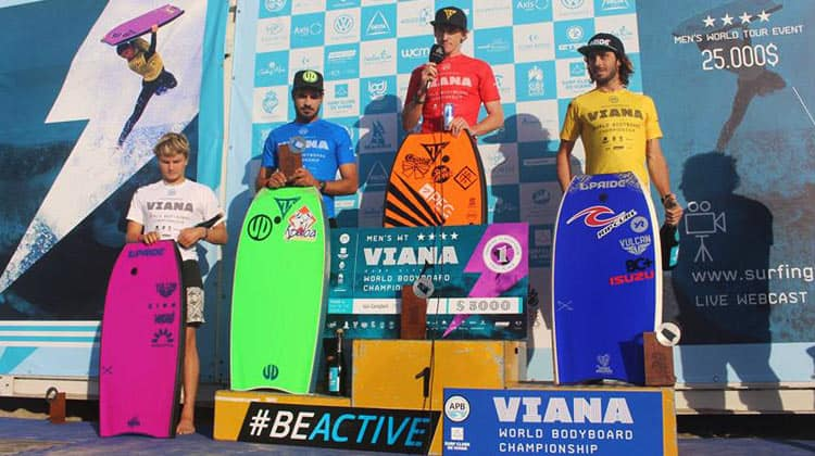 Back to back wins for bodyboarder Iain Campbell