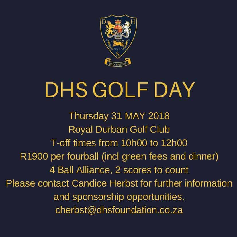 DHS Golf Day 2018